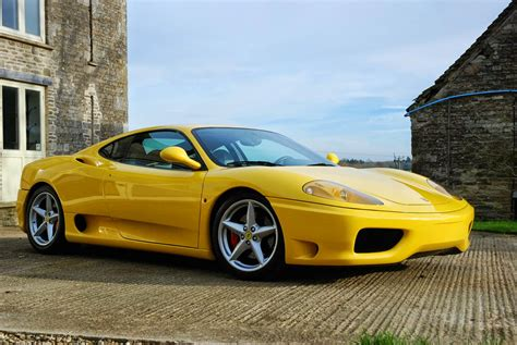ferrari yellow car yellow ferrari 360 modena 2001 auto restorationice