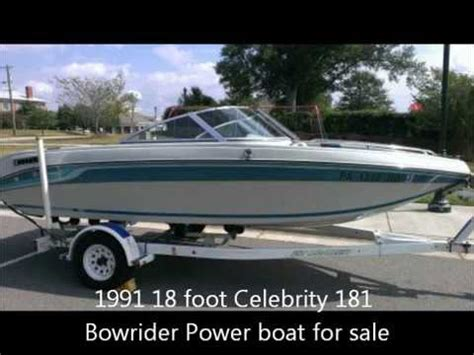 nada supra boats 1991 18 foot celebrity 181 bowrider power boat for sale