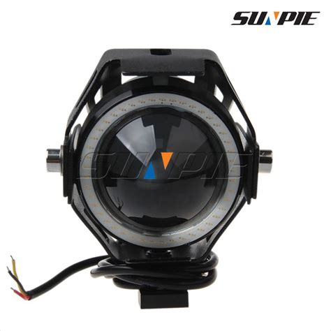 Led Projector Motor new u7 high low beam motorcycle strobe light led projector