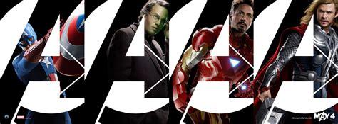 film thor ironman captain america the avengers banner with captain america iron man thor