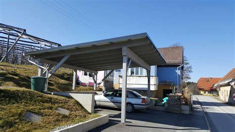 kwp carport carport mit 4 5 kwp pv anlage und batteriespeicher mc