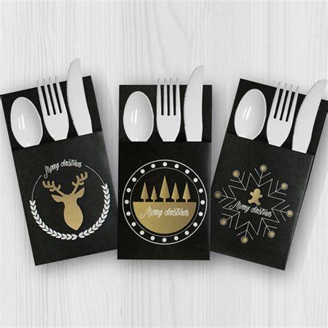 printable christmas utensil holders items similar to printable download christmas utensil