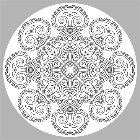 mandala coloring pages for adults coloring pages free and printable
