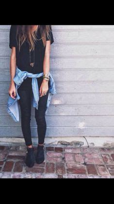 sissy stories of permed hair bagged i love a black top and black denim together perfect with