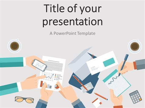 powerpoint theme vs template business meeting powerpoint template presentationgo