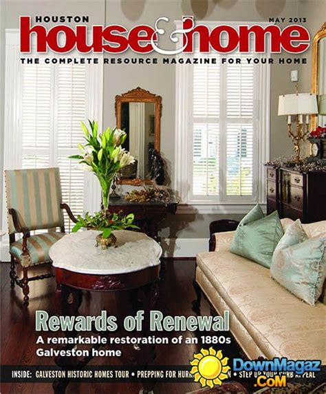 houston home design magazine houston house home may 2013 187 download pdf magazines