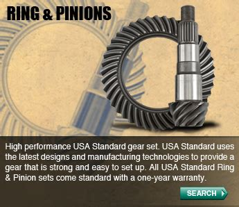design and manufacturing of gears usa standard gear differential products