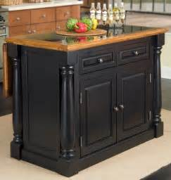 Black Granite Kitchen Island by 25 Portable Kitchen Islands Rolling Amp Movable Designs