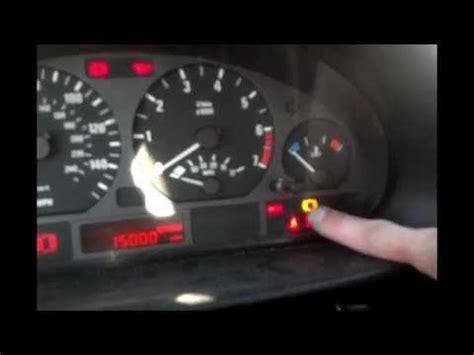 bmw brake pad reset procedure, brake warning light reset
