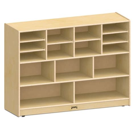 mobile shelving units jonti craft 0725jc sized combo mobile storage unit w o bins