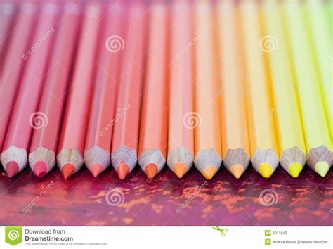 pastel colored pencils row of pastel colored pencils stock image image 5011843