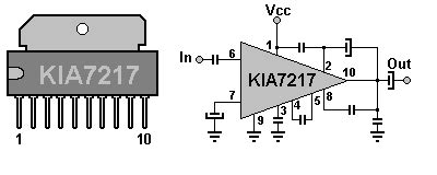 integrated circuits nz the defpom kia7217 component info page