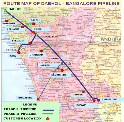 natural gas pipeline – karnataka state industrial and
