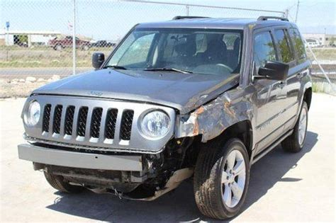 Jeep Only Junkyard Buy Used 2012 Jeep Patriot Latitude 4wd Salvage Repairable