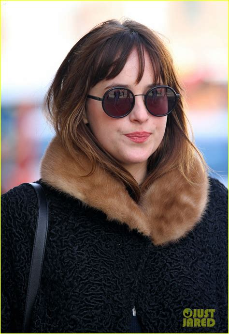 fifty shades of grey film earnings dakota johnson steps out after fifty shades of grey