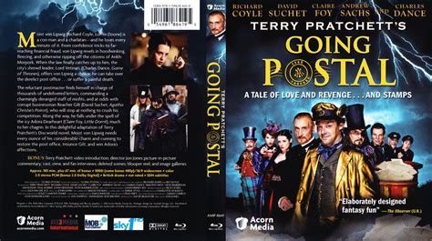 Going Postal going postal scanned covers going postal bluray dvd covers