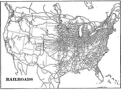 map of the united states railroads 1901 united states railroads 1900 1920 progressive