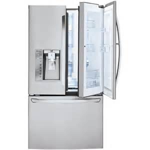 Sears Samsung French Door Refrigerator - lg lfxs30766s 29 6 cu ft french door stainless steel refrigerator