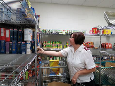 The Salvation Army Food Pantry by Salvation Army Food Pantry Runs Low Bank Green
