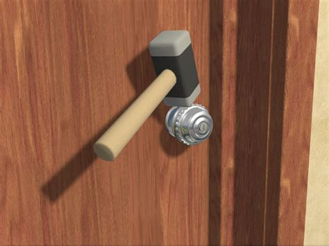 top graphic of how to unlock bedroom door without key