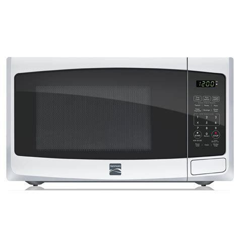 Sears Countertop Microwave by Kenmore 73092 0 9 Cu Ft Countertop Microwave White