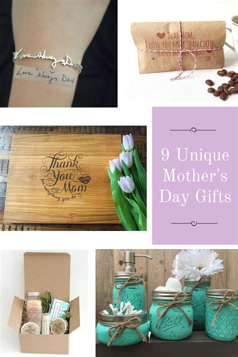 unique mothers day gifts 9 unique mother s day gifts
