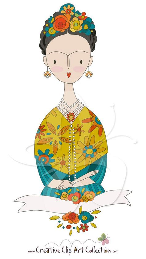 Frida Kahlo Clipart 485 best images about frida kahlo on chihuahuas mexican colors and folk