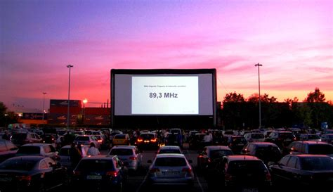 drive in cinema drive in cinema airscreen outdoor movie screens
