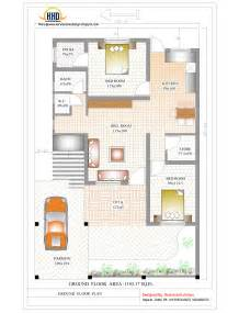 House Planning by Contemporary India House Plan 2185 Sq Ft Indian Home