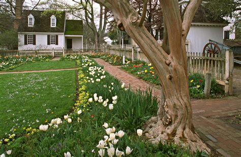 Garden Va by Gardens Of Colonial Virginia House
