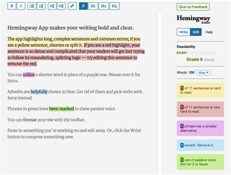 testo hemingway i 25 strumenti email marketing fondamentali