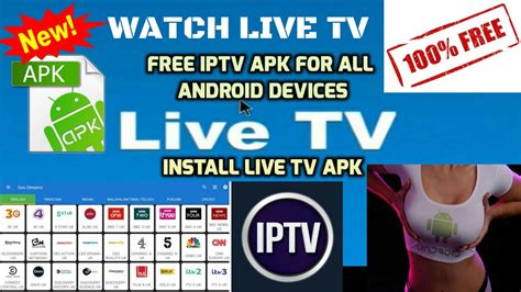 free live tv apk free iptv apk for all android devices live tv 100 free 100 s of channels funnycat tv