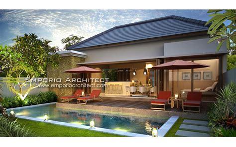 gambar desain villa di bali desain rumah mewah plus kolam renang 2017