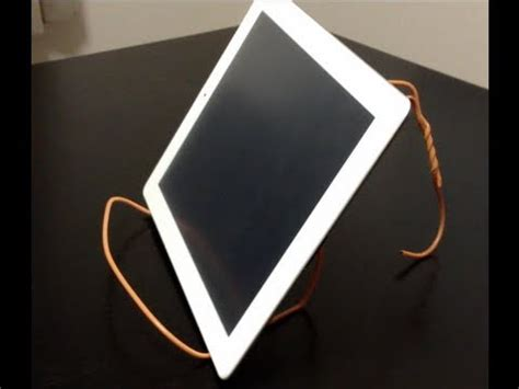 How To Make A Hanger Holder - tablet clothes hanger stand diy