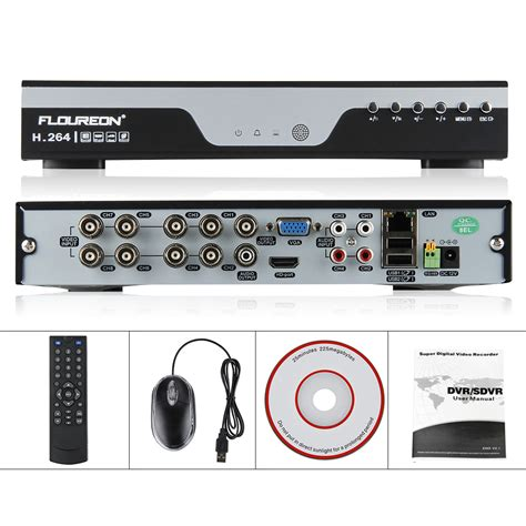 8channel cctv onvif 1080p nvr dvr recorder for home