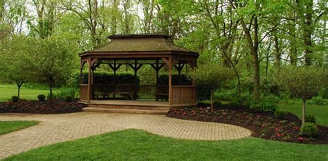Pattison Lodge and Gazebo for a potential reception venue