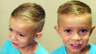 how to cut boys hair how to cut boys hair trendy boys haircut tutorial youtube