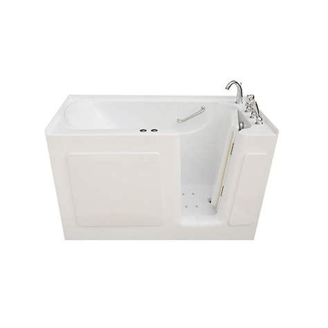 4 5 ft bathtub universal tubs 4 5 ft left drain walk in whirlpool bath