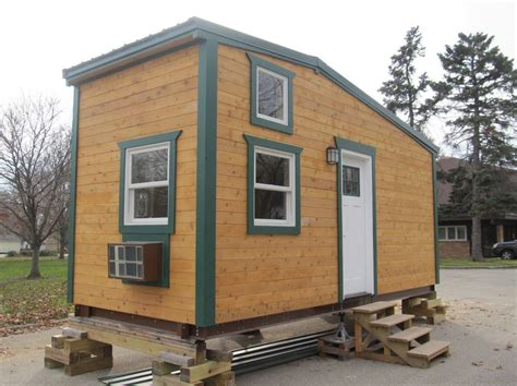 tiny house square 180 sq ft tiny house for sale with 64 sq ft loft