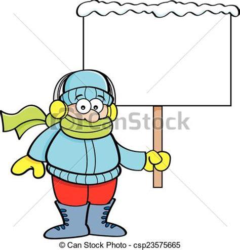 imagenes de invierno caricatura clip art de vectores de ni 241 o asimiento ropa invierno