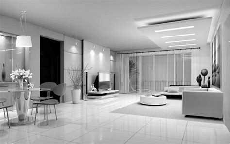 interior of a home black and white interior luxury design interior design