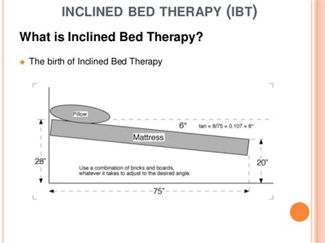 inclined bed therapy inclined bed therapy and diabetes study