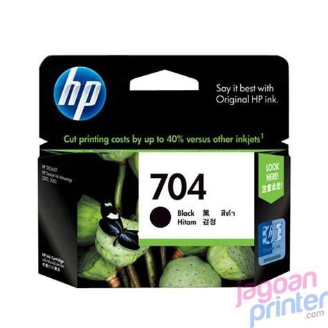 Tinta Printer Hp Deskjet Ink Advantage 2060 Jual Cartridge Hp 704 Black Murah Garansi Jagoanprinter