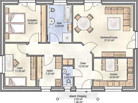 Grundriss Haus 100 Qm by Grundriss Bungalow 100 Qm Emphit