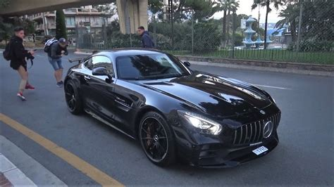 2017 Amg Gtr by New 2017 Mercedes Amg Gtr Driving On In Monaco