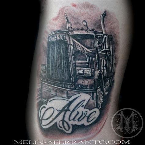 semi truck tattoo designs best 25 truck ideas on forest