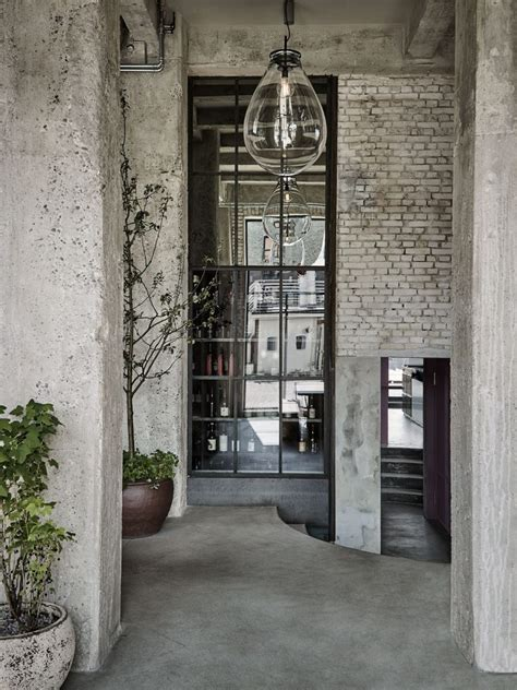 industrial style industrial style restaurant 108 with exposed brick walls