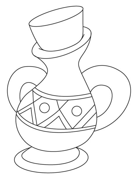 Jar coloring page | Download Free Jar coloring page for