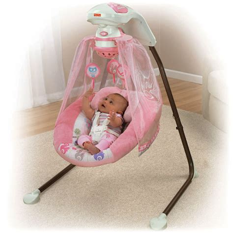 fisher price baby swings that plug in fisher price tree party cradle n swing plug in new x2535