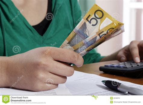 girl counting money stock photo image  financial
